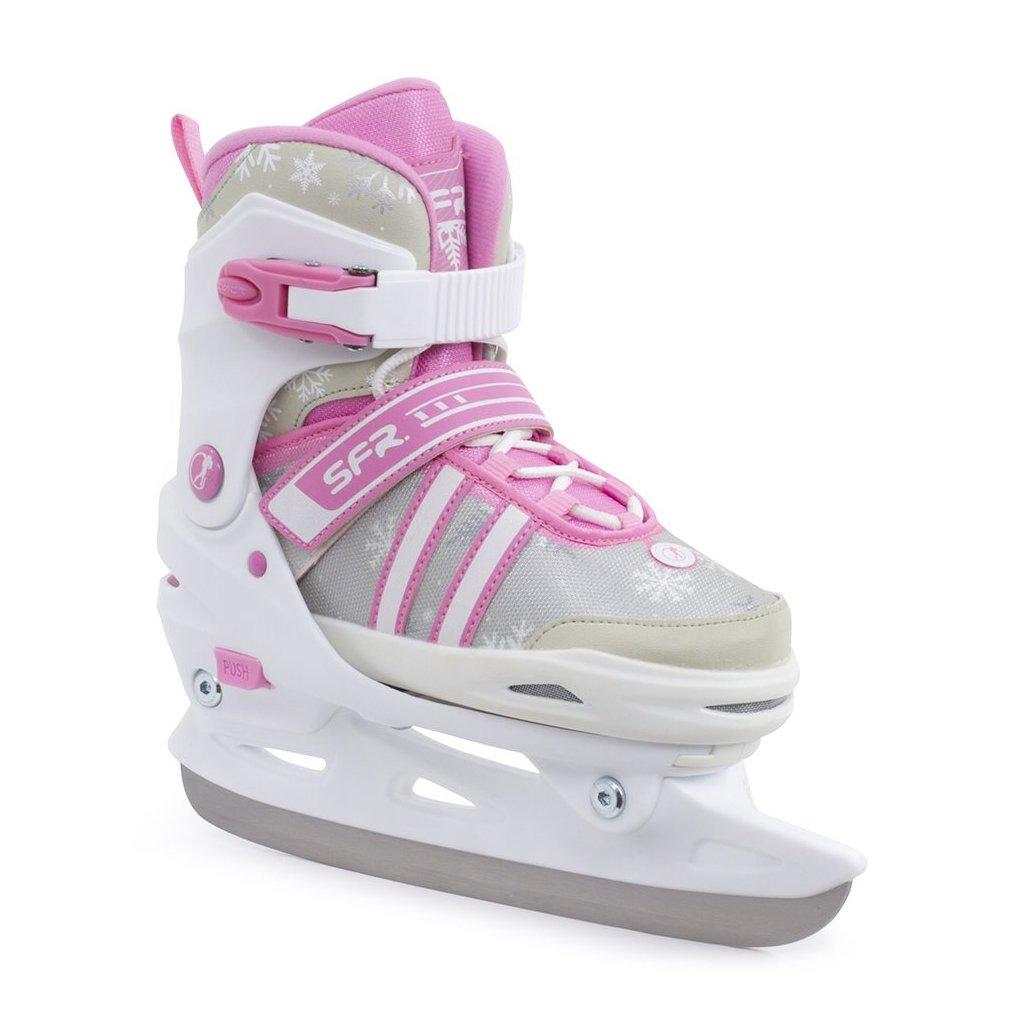 SFR - Nova Pink - nastavitelné lední brusle