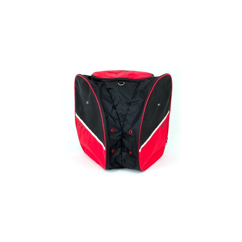 SFR - Skate Backpack  Black/Red - batoh na brusle