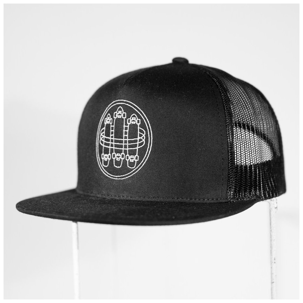 Shine - Circle Skate Black - Pánská čepice