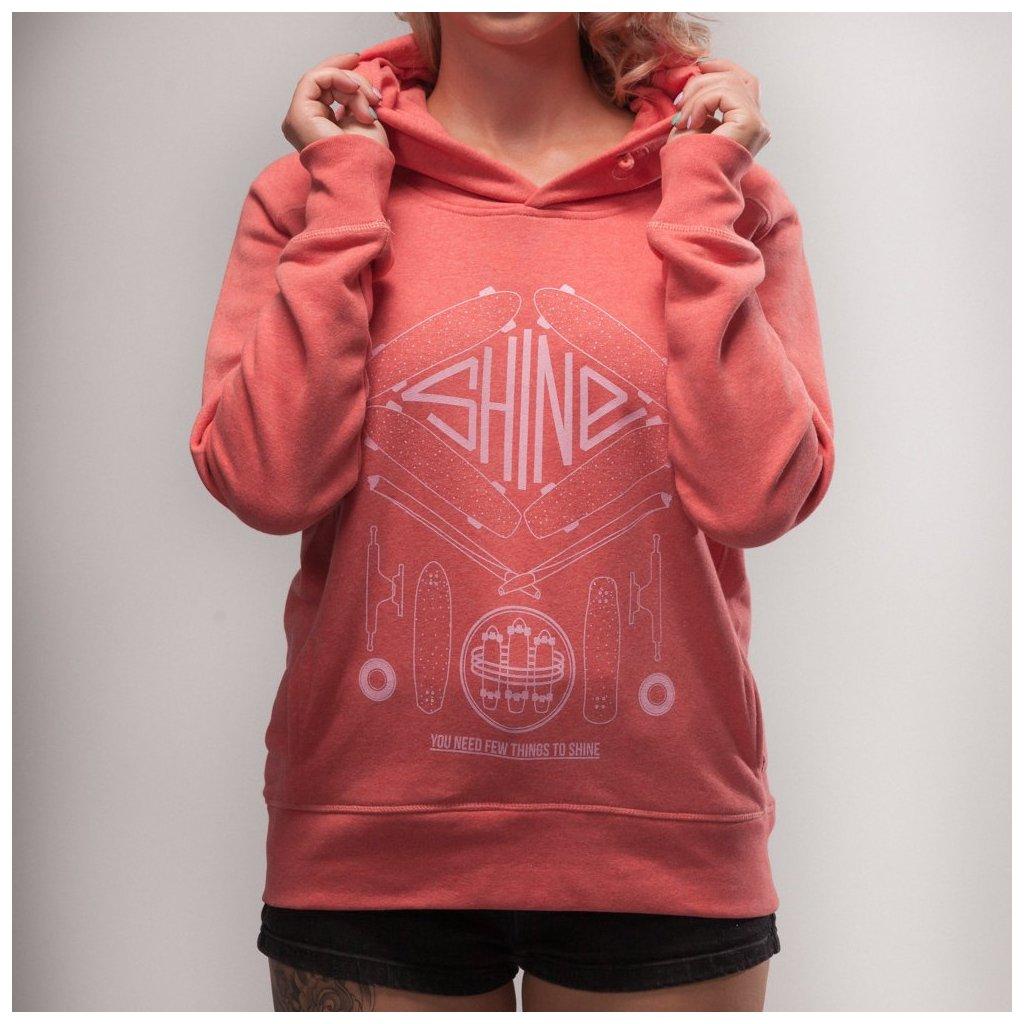 Shine - KPZ Pink - Dámská mikina