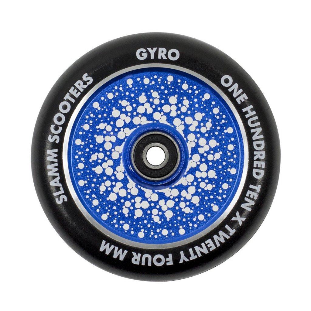 Slamm - Gyro Hollow Core Blue 110 mm kolečka (1ks)