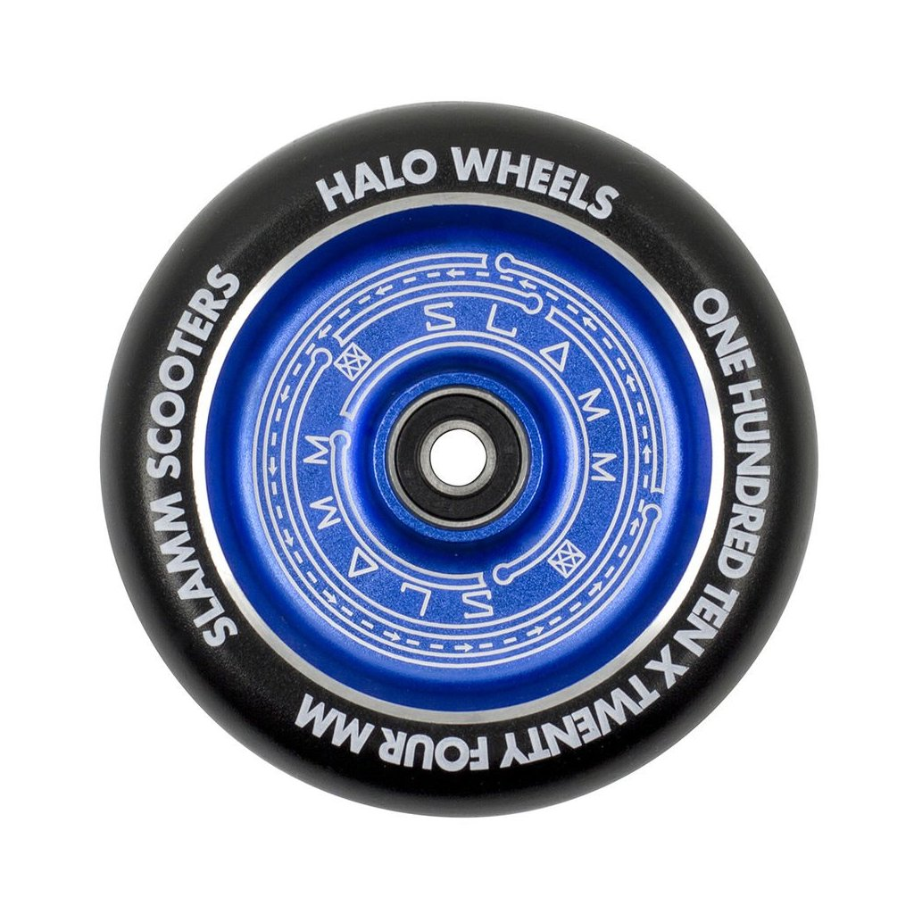 Slamm - Halo Deep Dish Blue 110 mm kolečka (1ks)