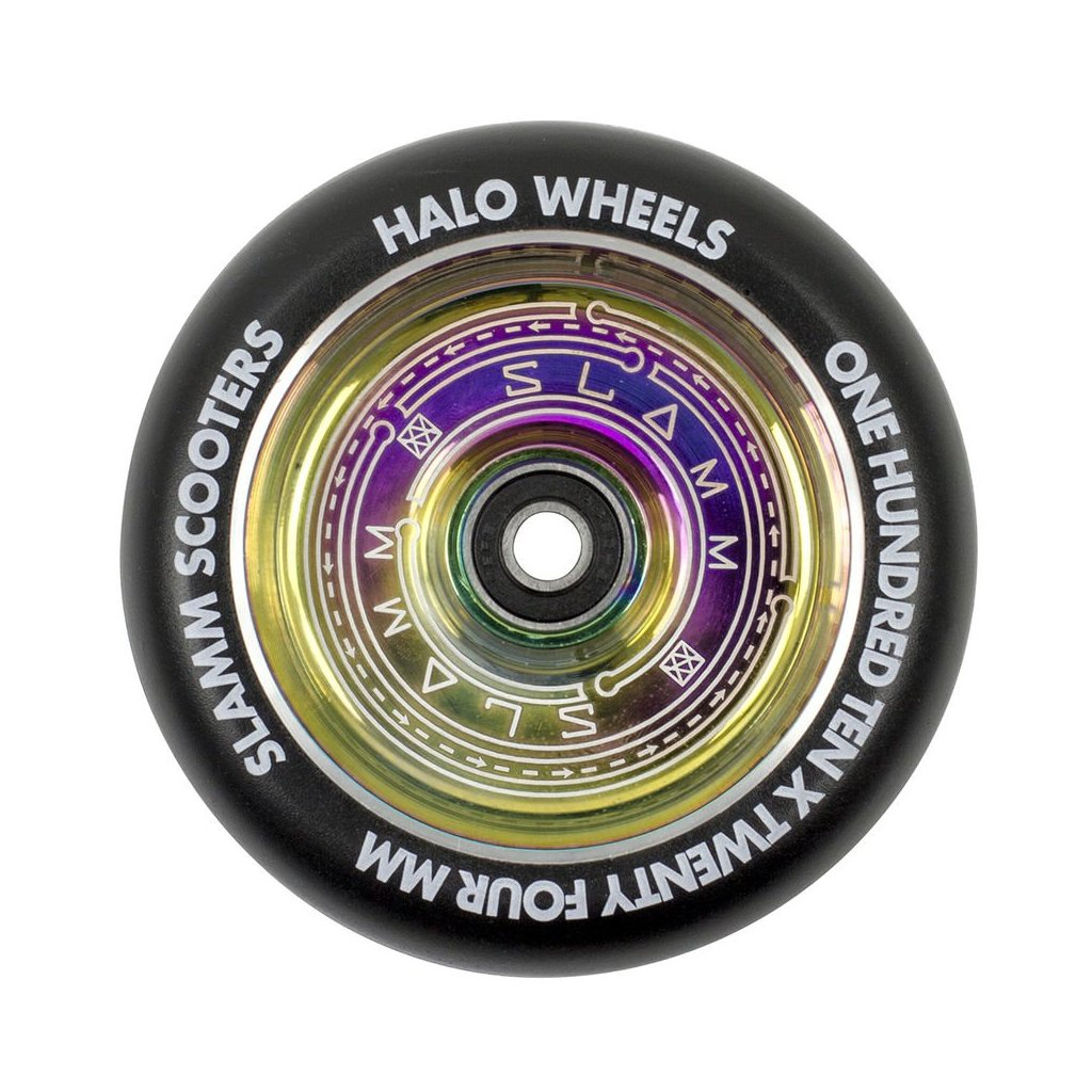 Slamm - Halo Deep Dish Neochrome 110 mm kolečka (1ks)