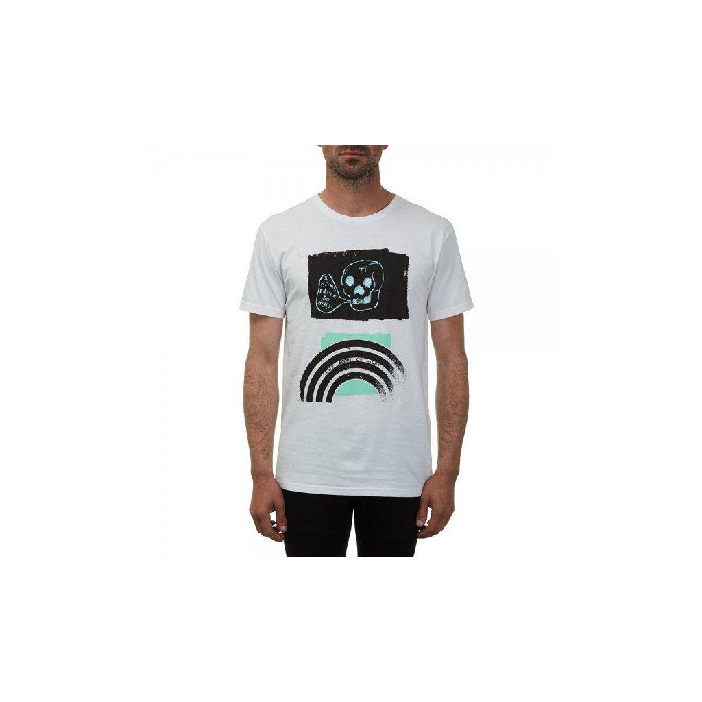 Volcom - Bud Bsc Ss White - Pánské triko