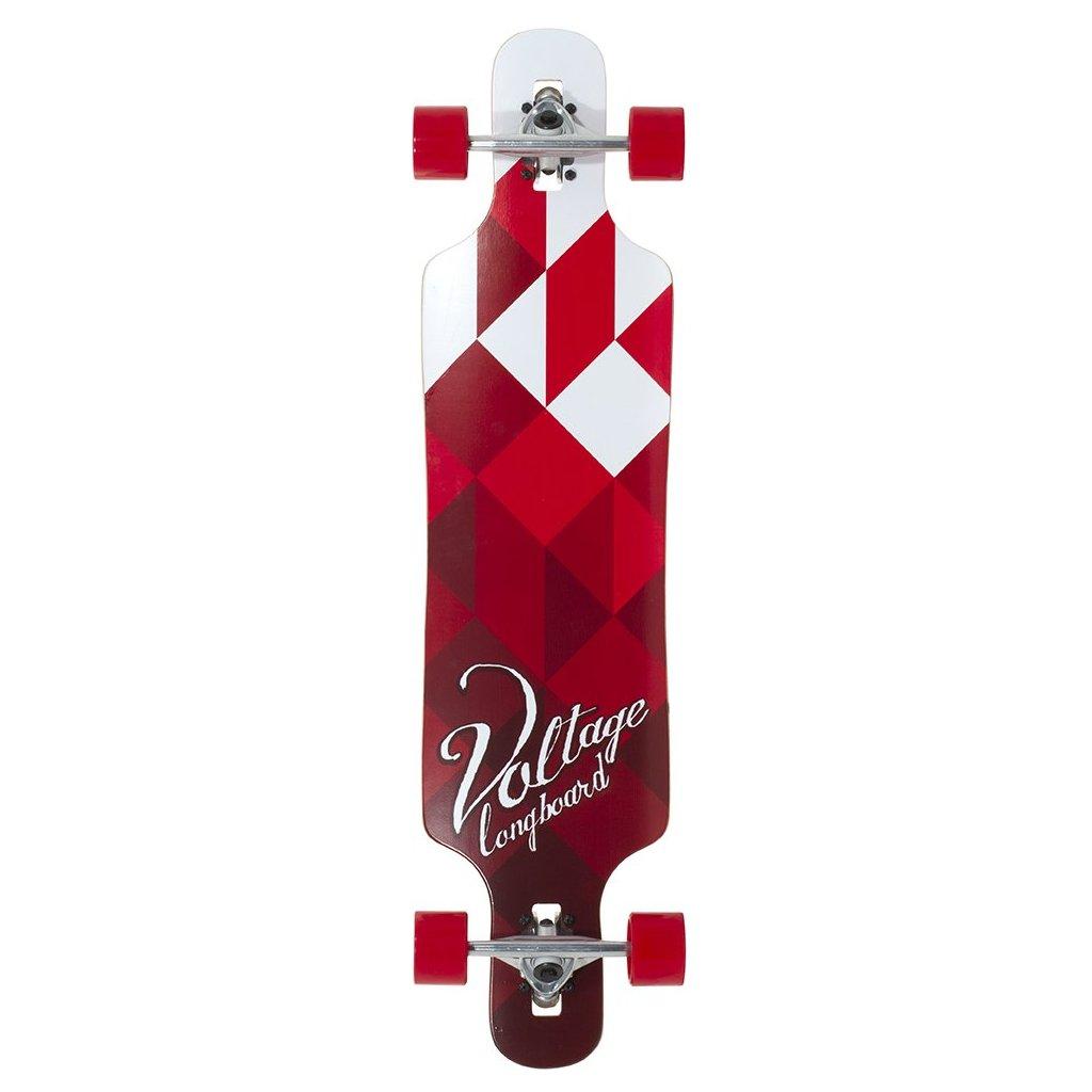 """Voltage - Cubism DT V2 39"""" Red"""