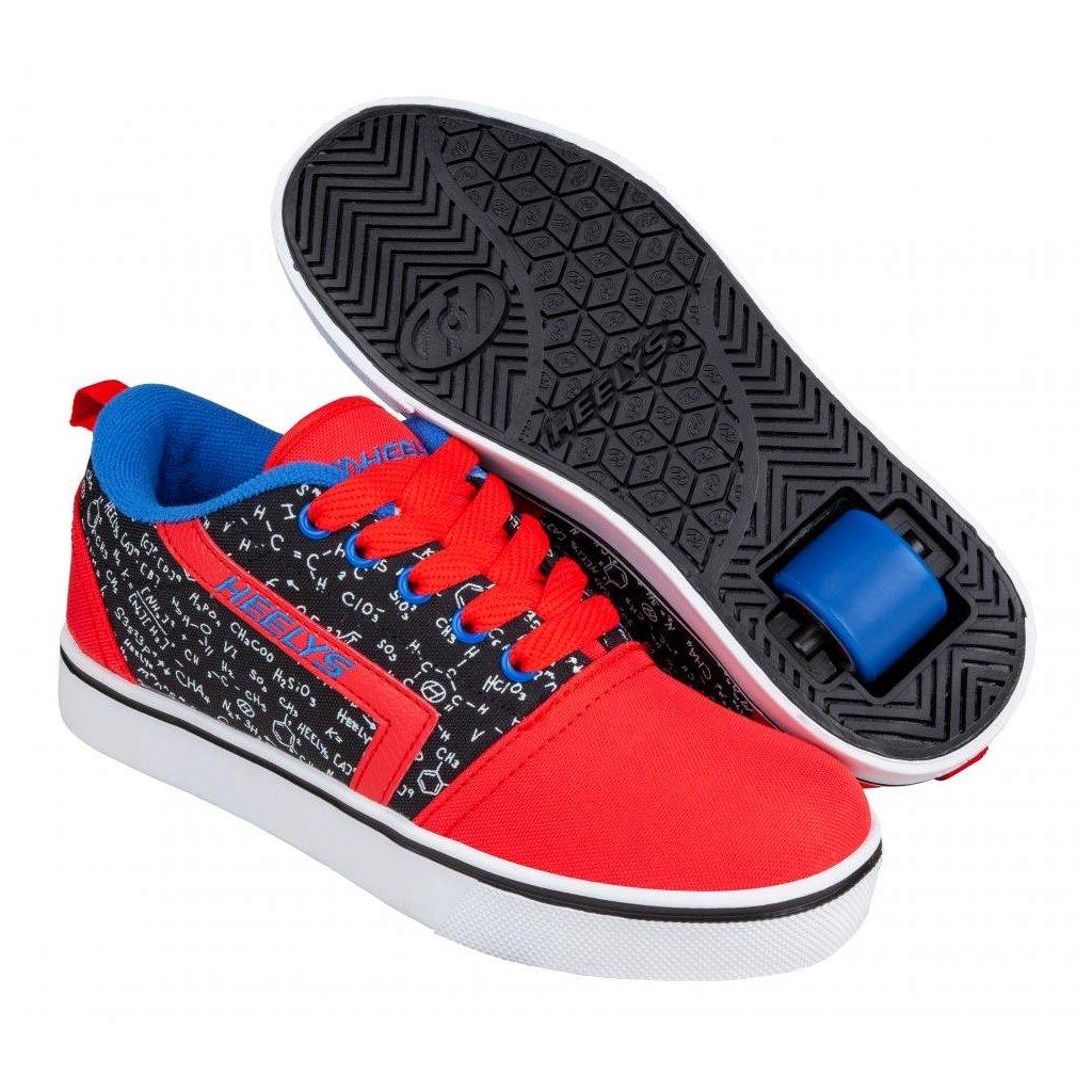 Heelys - GR8 Pro Prints Red/Black/Blue/Chemistry - koloboty