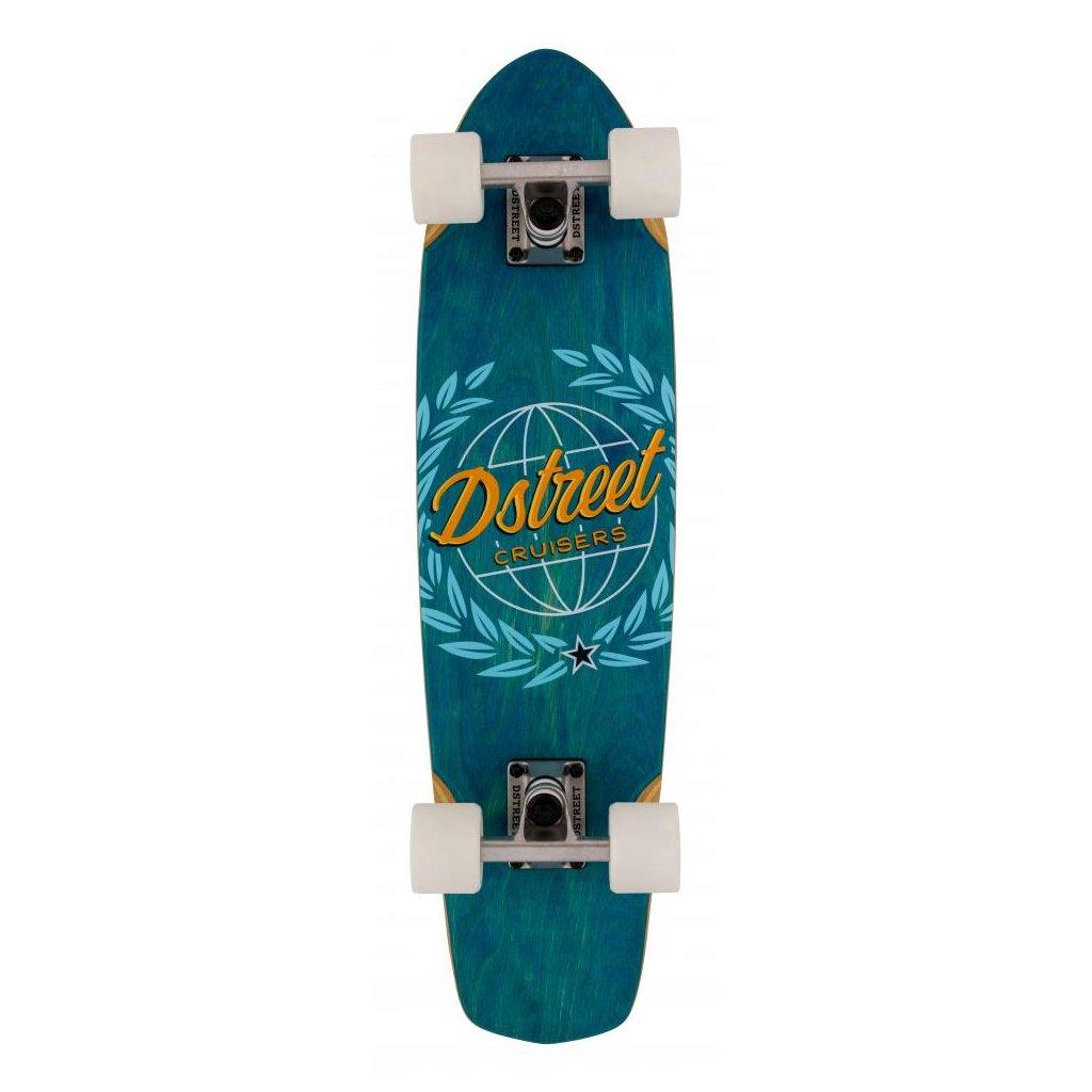 """D-Street - Cruiser Atlas Blue 28"""" - longboard"""