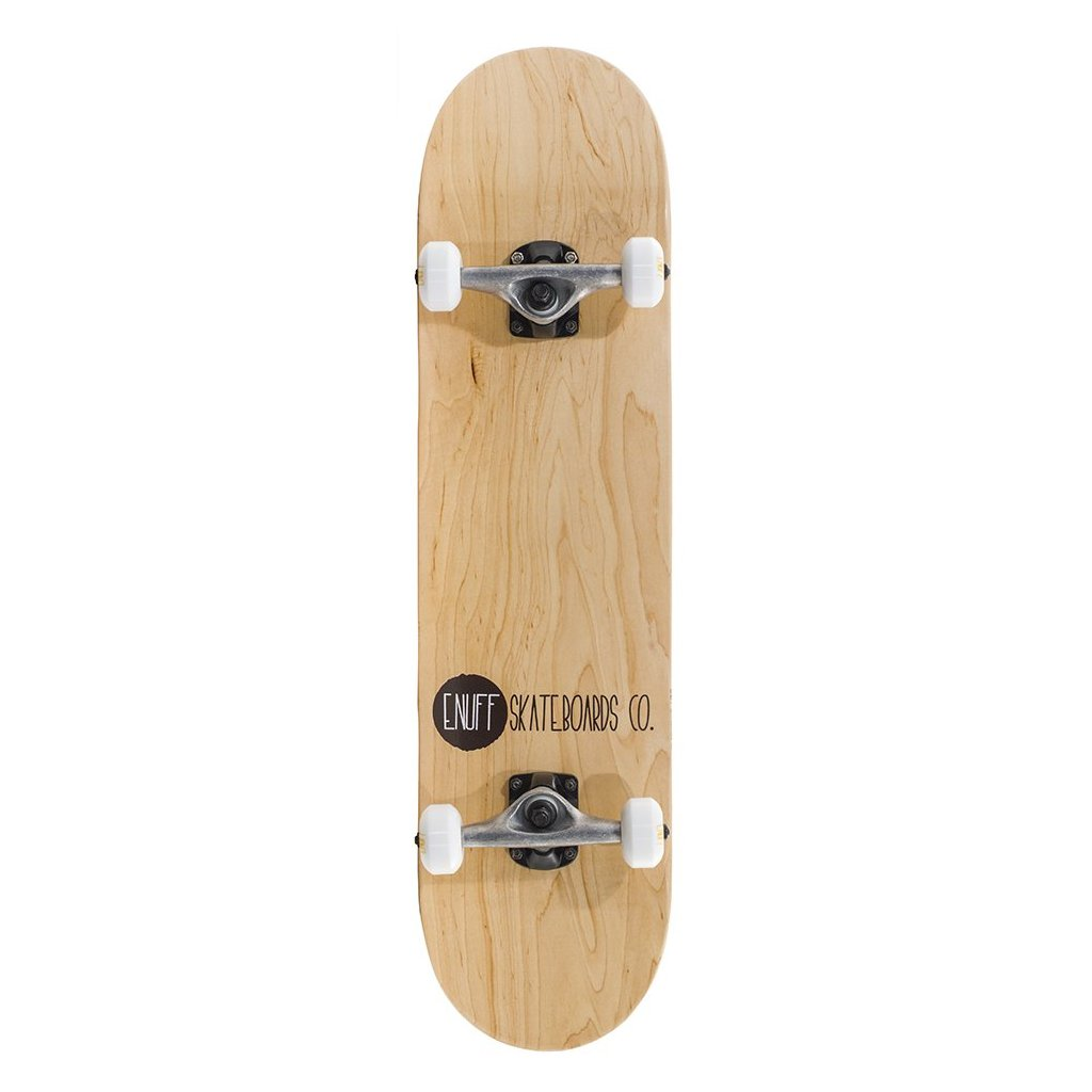 "Enuff - Logo Stain - 8"" - Natural skateboard"