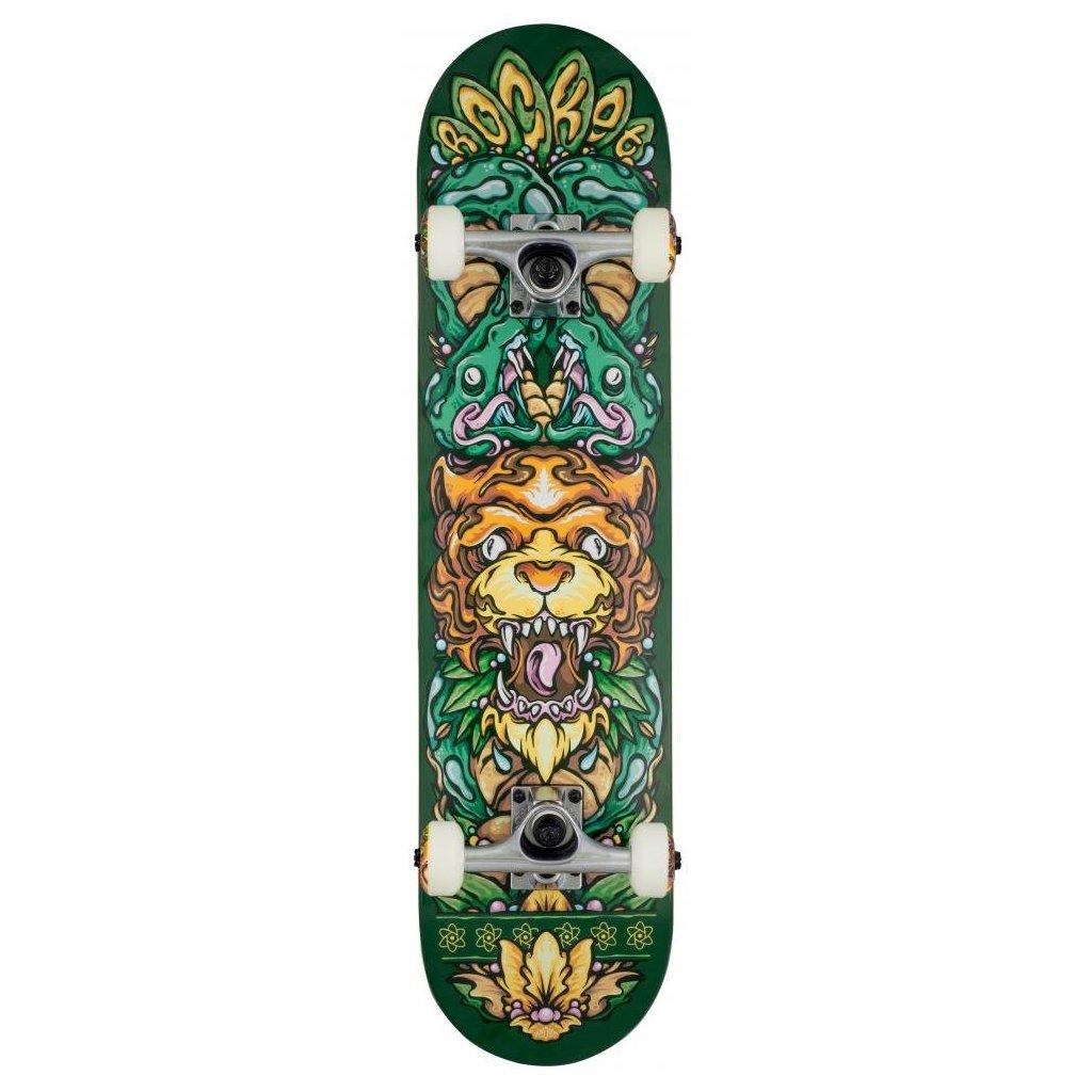 "Rocket - Wild Pile-up Green - 7.5"" - skateboard"