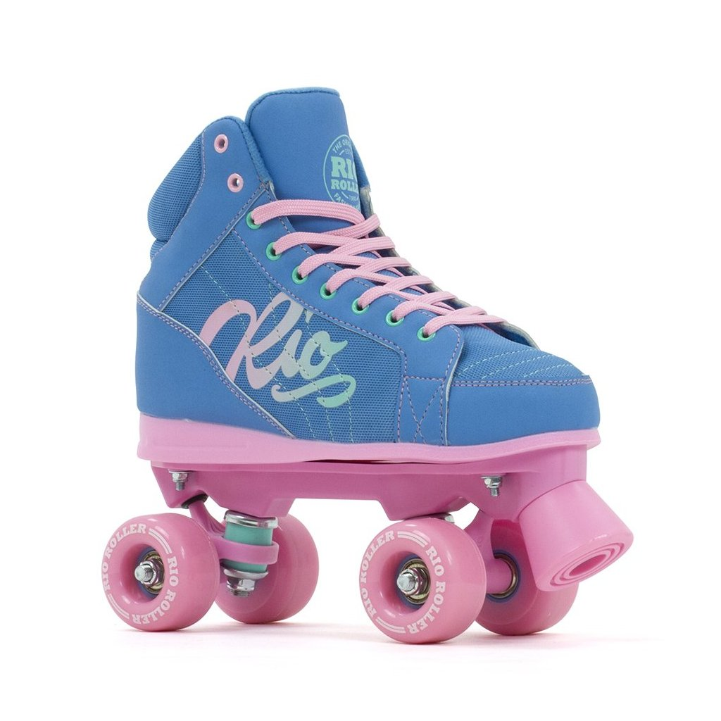 Rio - Roller Lumina Blue/Pink - trekové brusle