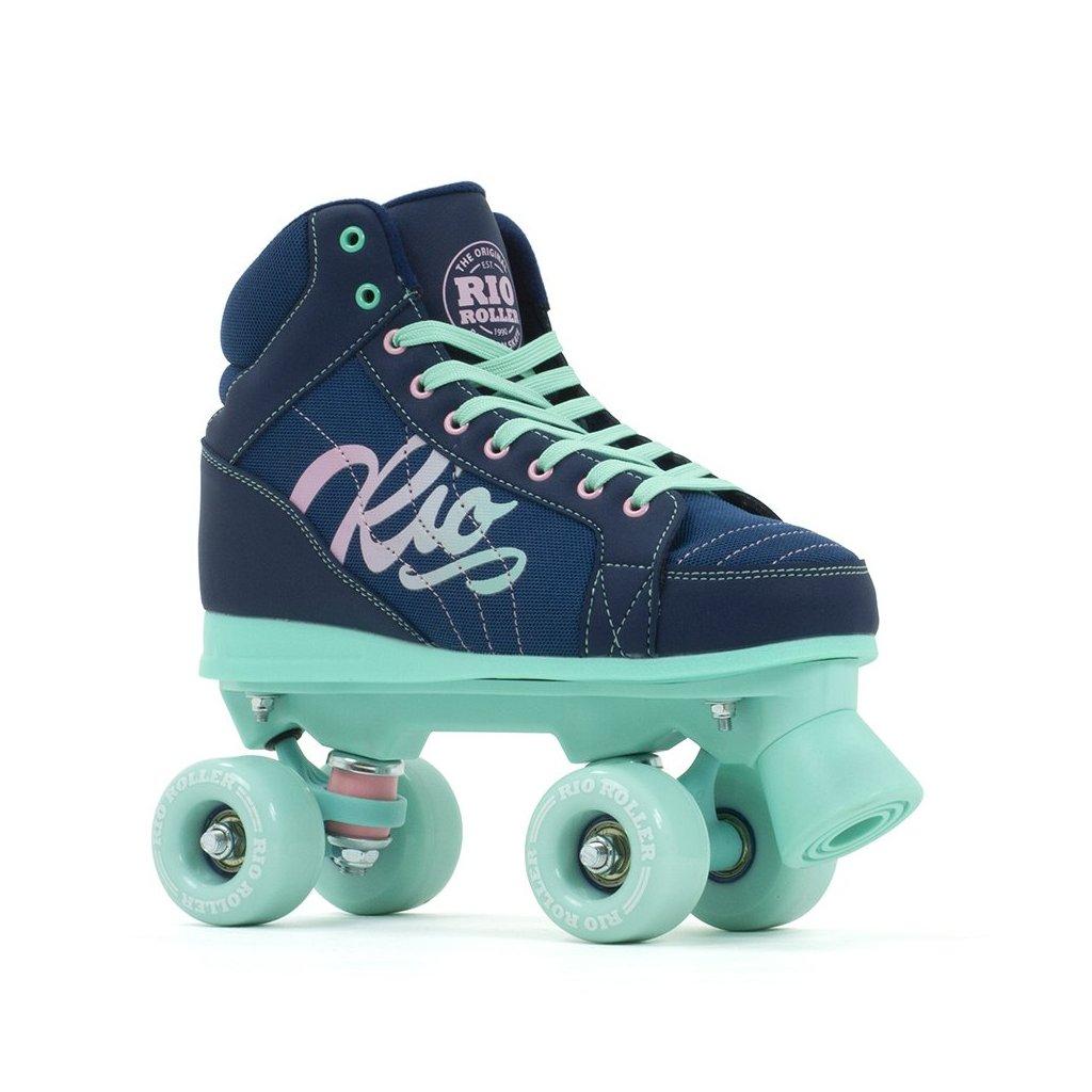 Rio - Roller Lumina Navy/Green - trekové brusle