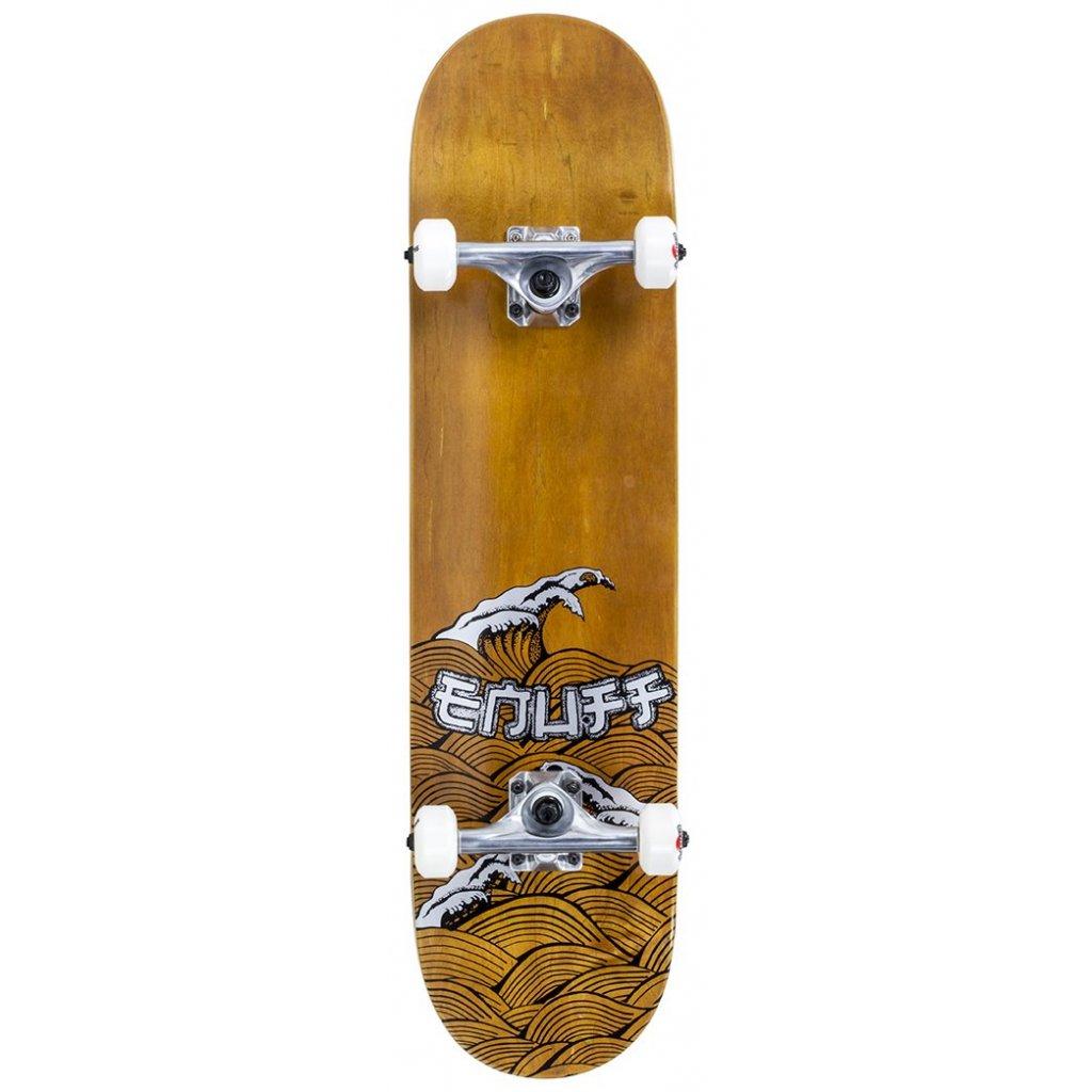 "Enuff - Big Wave Brown/Silver 8"" - skateboard"