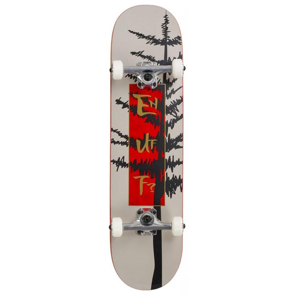 "Enuff - Evergreen Tree Warm Grey/Red 8"" - skateboard"