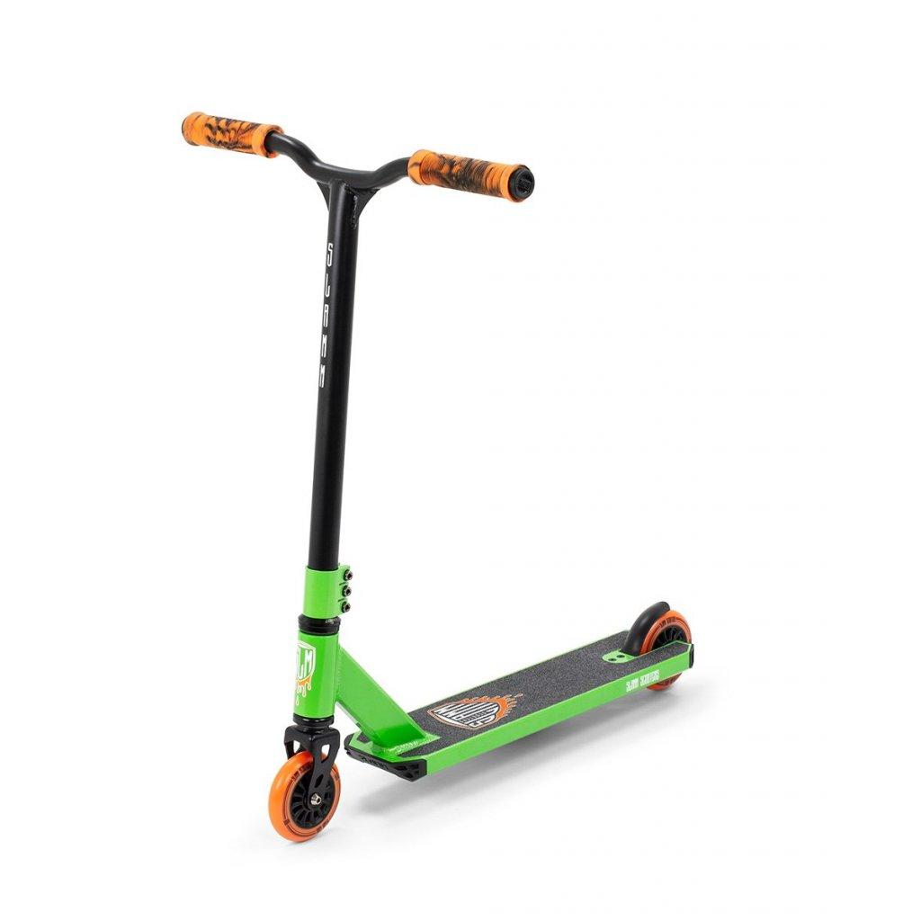 Slamm - Tantrum V8 - Green - Freestyle koloběžka