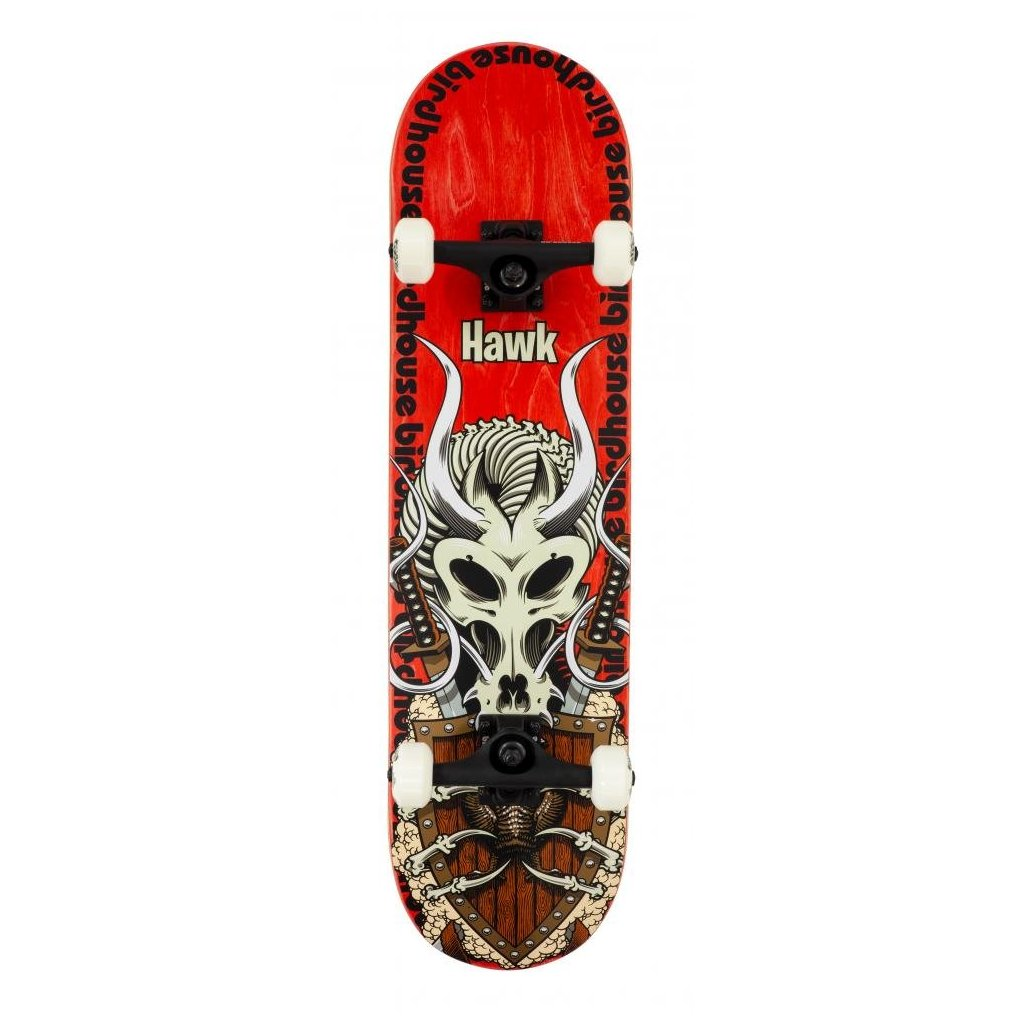 "Birdhouse - Stage 3 Hawk Gladiator Red 8.125"" - skateboard"