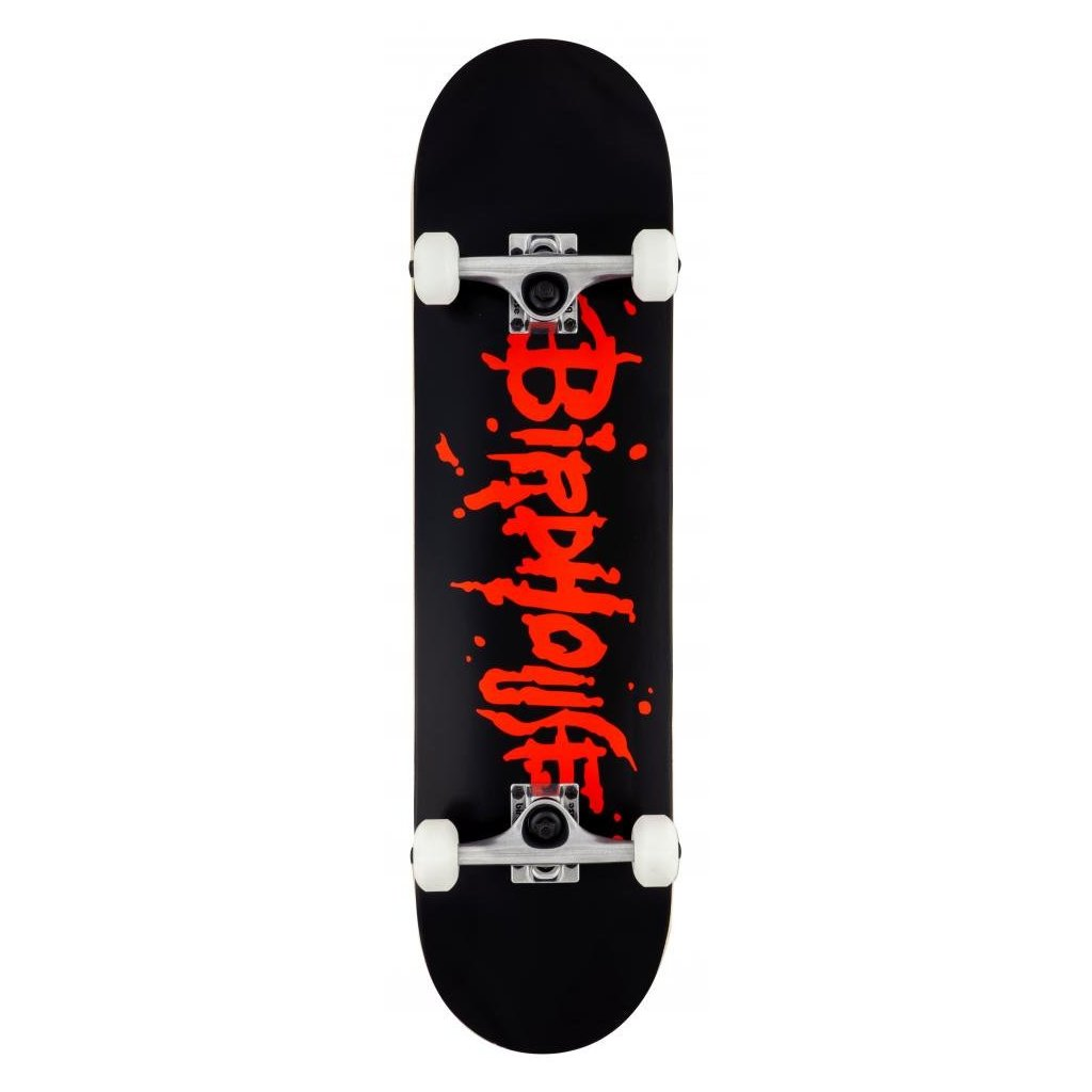 "Birdhouse - Stage 1 Blood Logo Black/Red 8"" - skateboard"