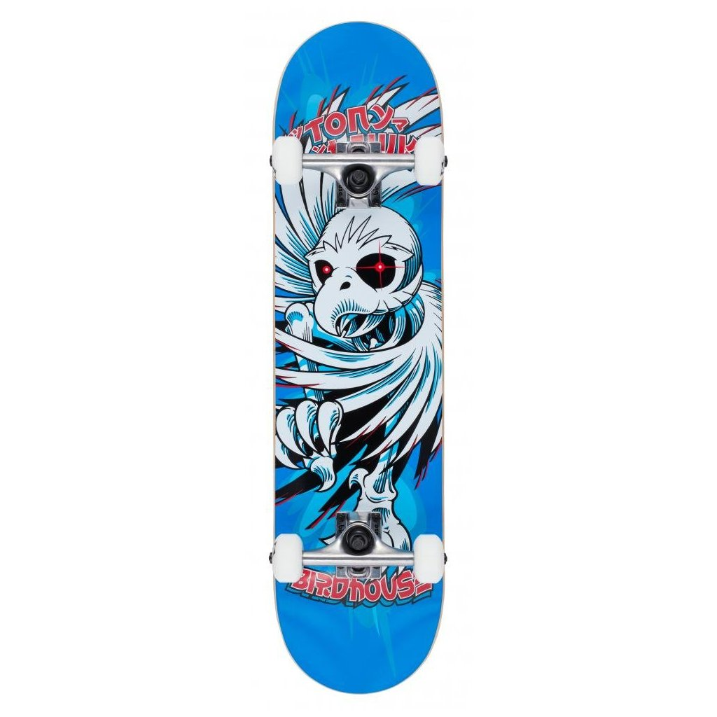 "Birdhouse - Stage 1 Hawk Spiral Blue 7.75"" - skateboard"