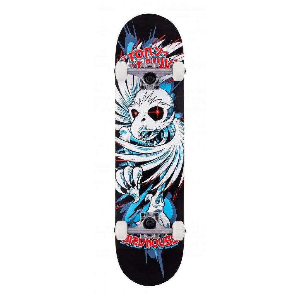 "Birdhouse - Stage 1 Hawk Spiral Black 7.75"" - skateboard"