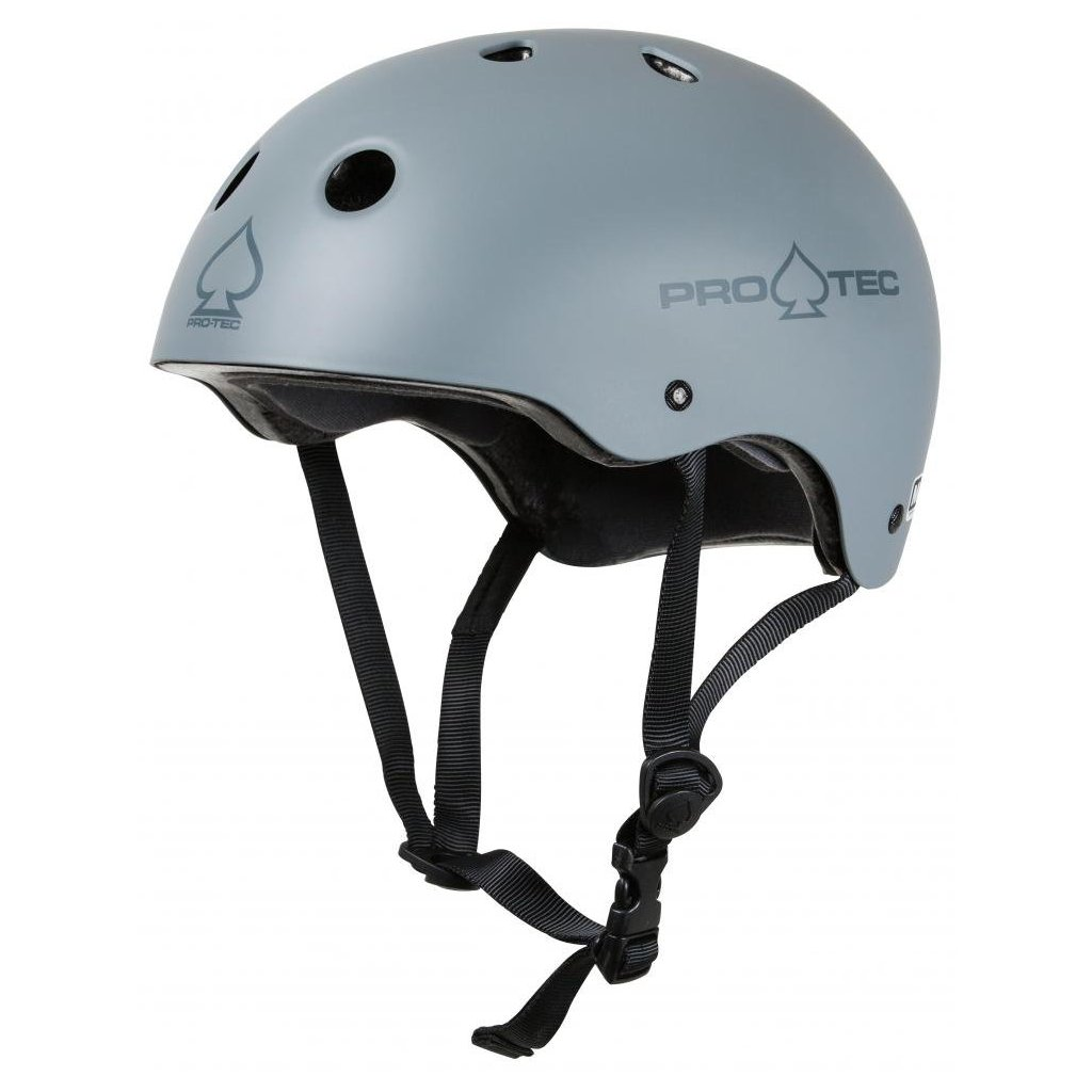 Pro - Tec - Classic Cert Matte Grey - helma