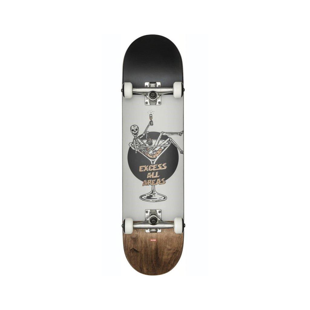 "Globe - G1 Excess - White/Brown 8"" - skateboard"