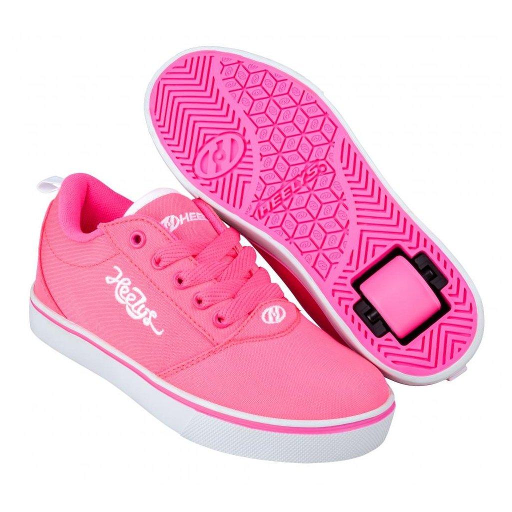 Heelys - Pro 20 - Neon Pink/White - koloboty