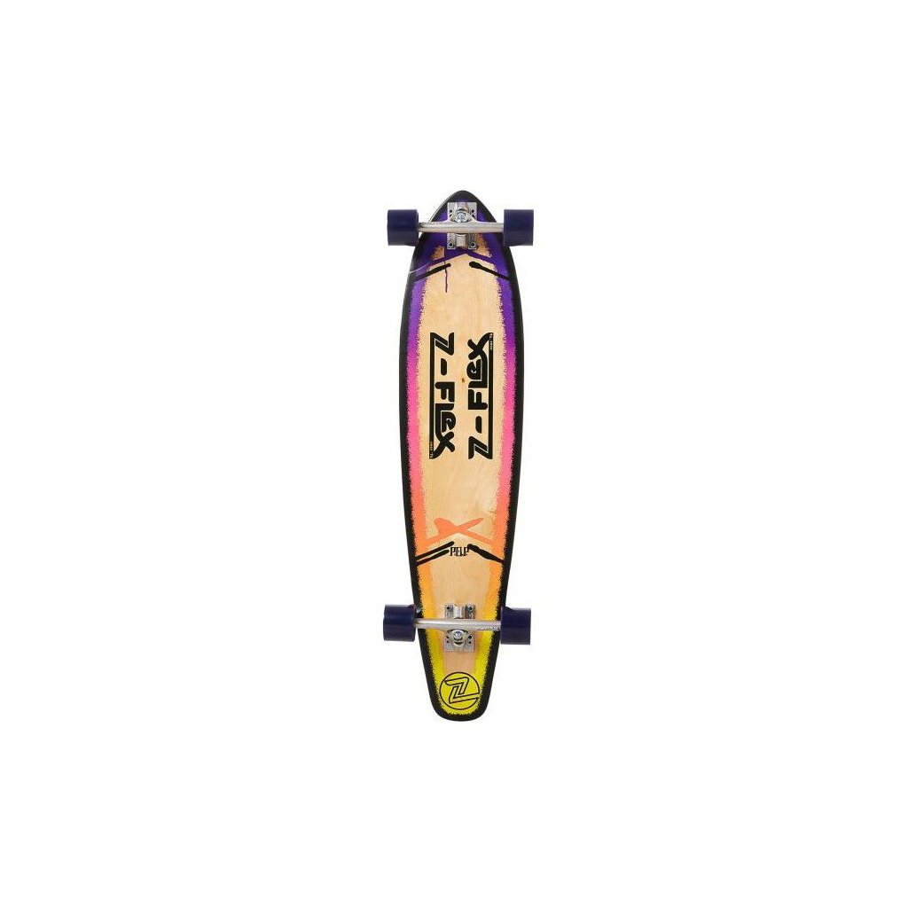 "Z-Flex - P.O.P Roundtail 39"" Purple - longboard"