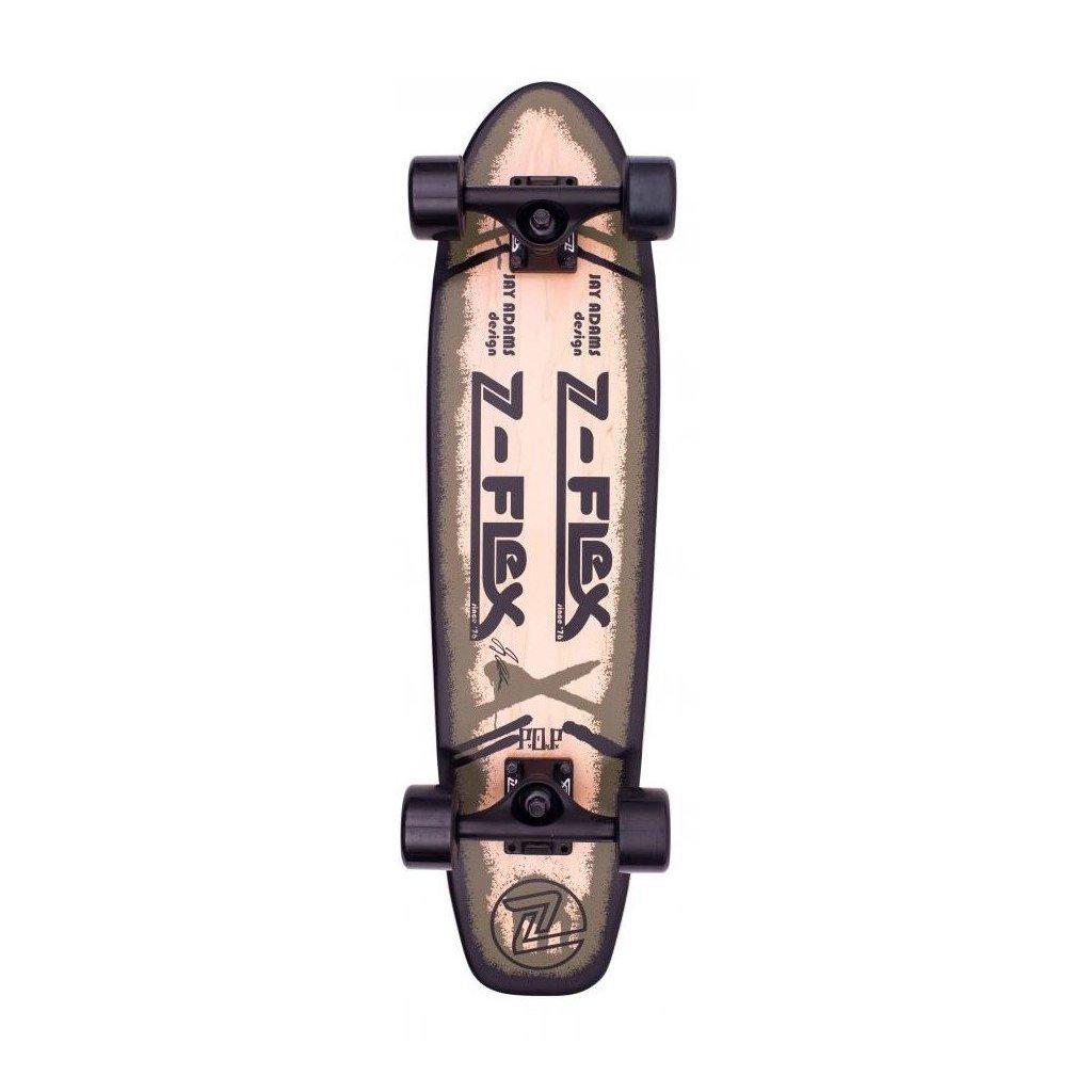 """Z-Flex - P.O.P Cruiser 29"""" Olive - longboard"""