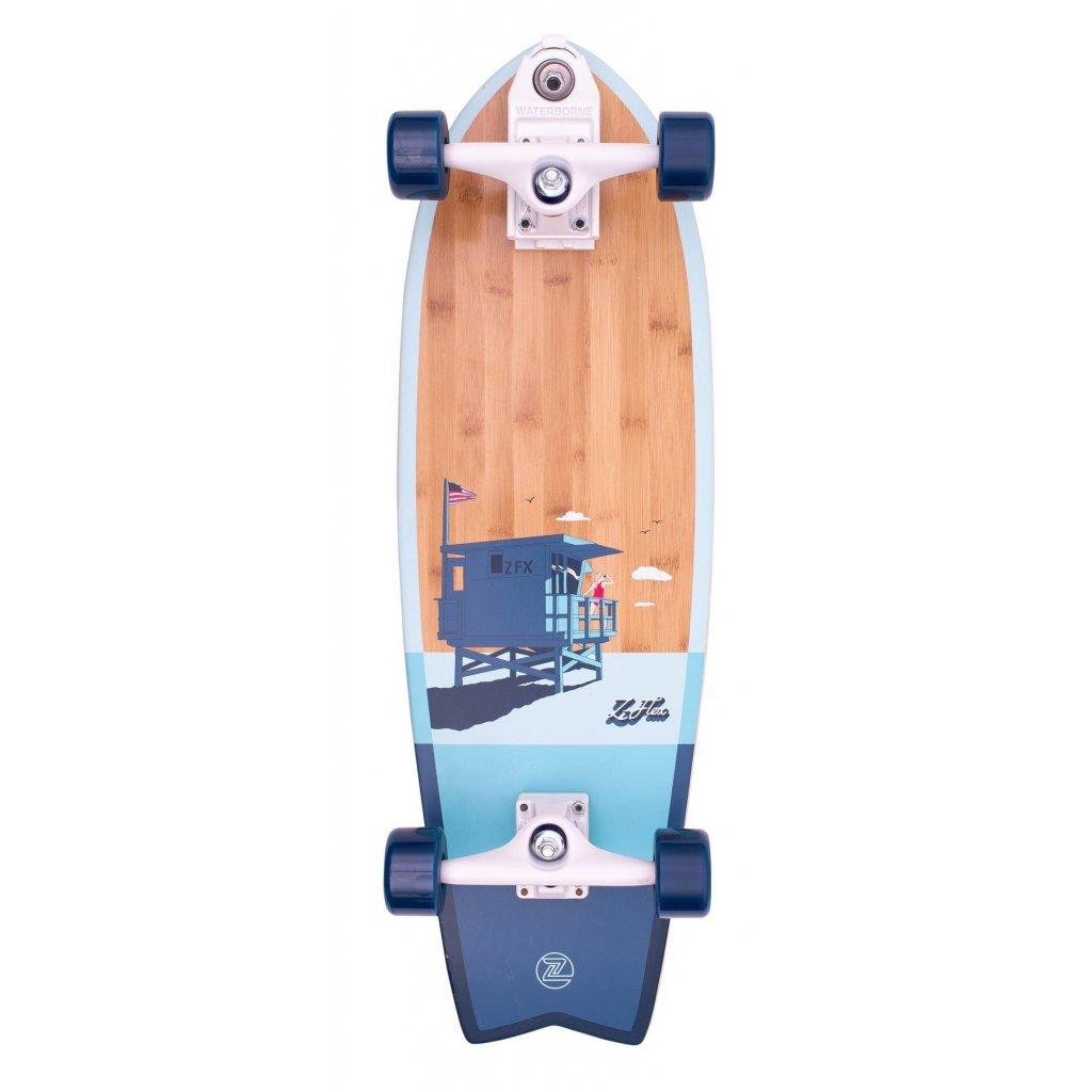 """Z-Flex - Bamboo Surfskate  Fish 31"""" Blue - Surfskate"""