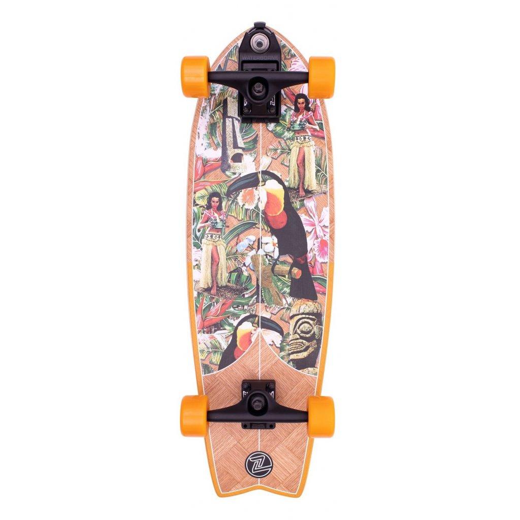 "Z-Flex - Banana Train Surfskate Fish 31"" Orange - Surfskate"