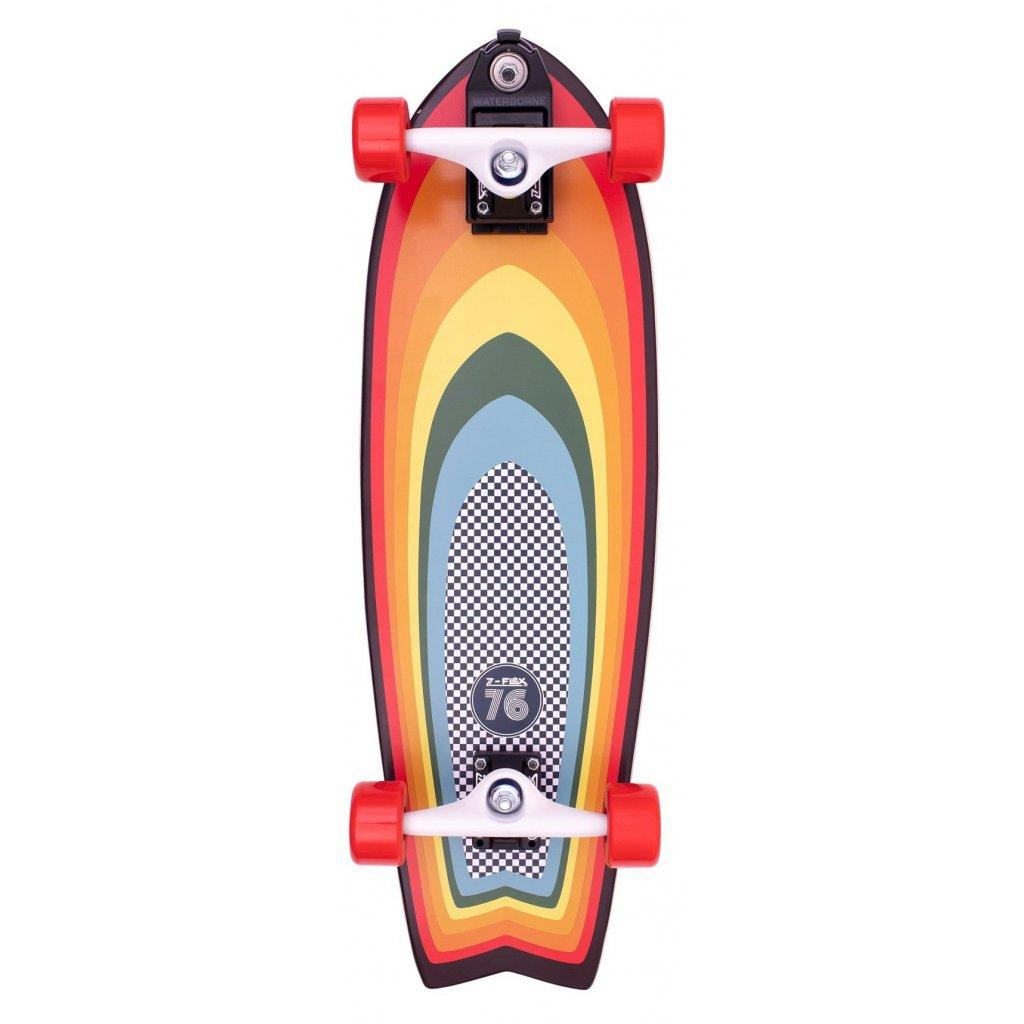 """Z-Flex - Surf-a-gogo Surfskate Fish 31"""" Multi - Surfskate"""
