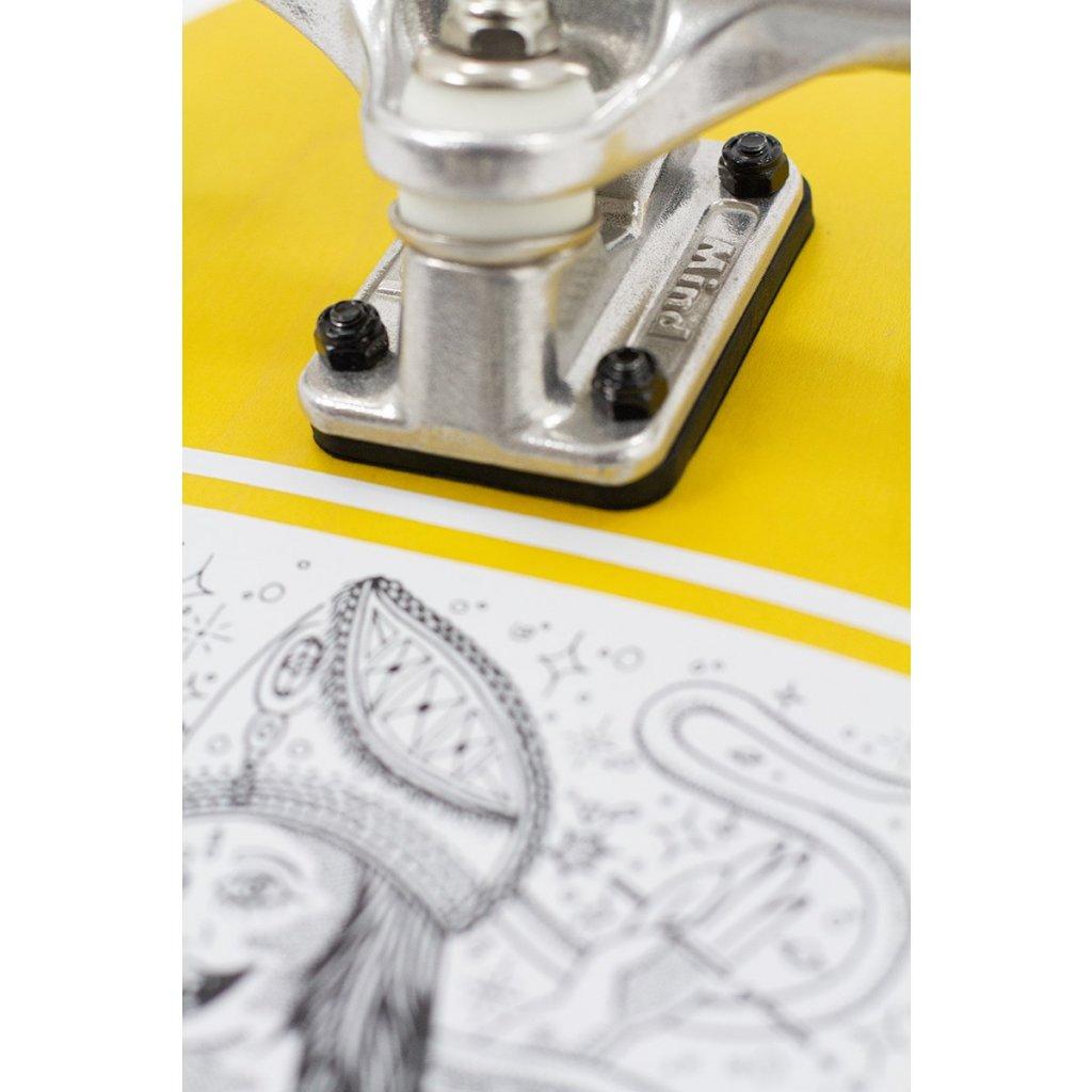 """Mindless - Tiger Sword 30"""" Mustard longboard"""
