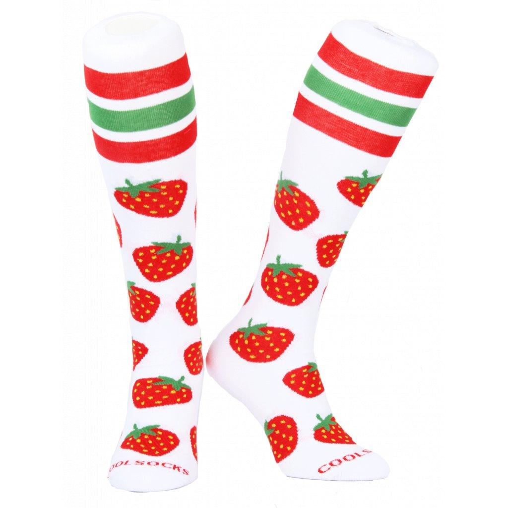 Coolsocks - Podkolenky Slim Strawberry