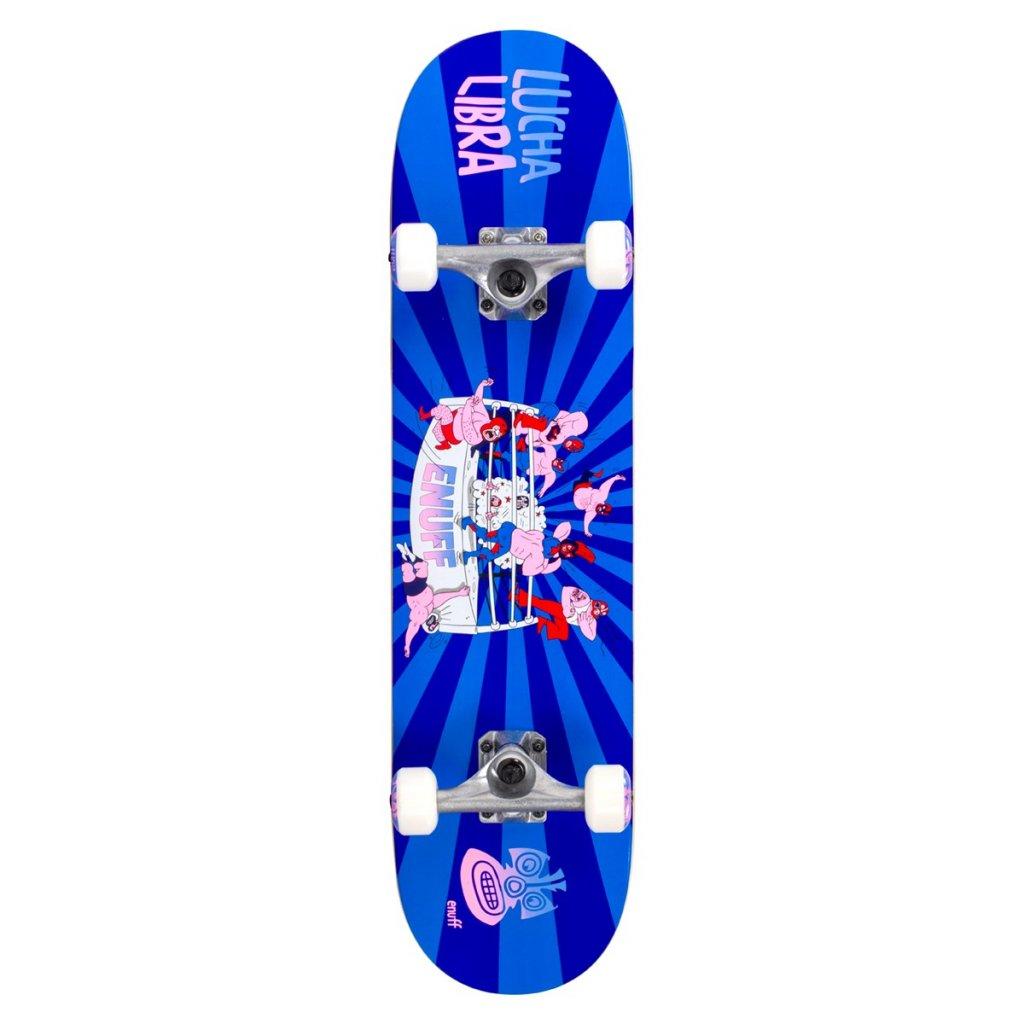 ENU2525 ENU2575 Enuff Skateboards Lucha Libre Blue Blue Main