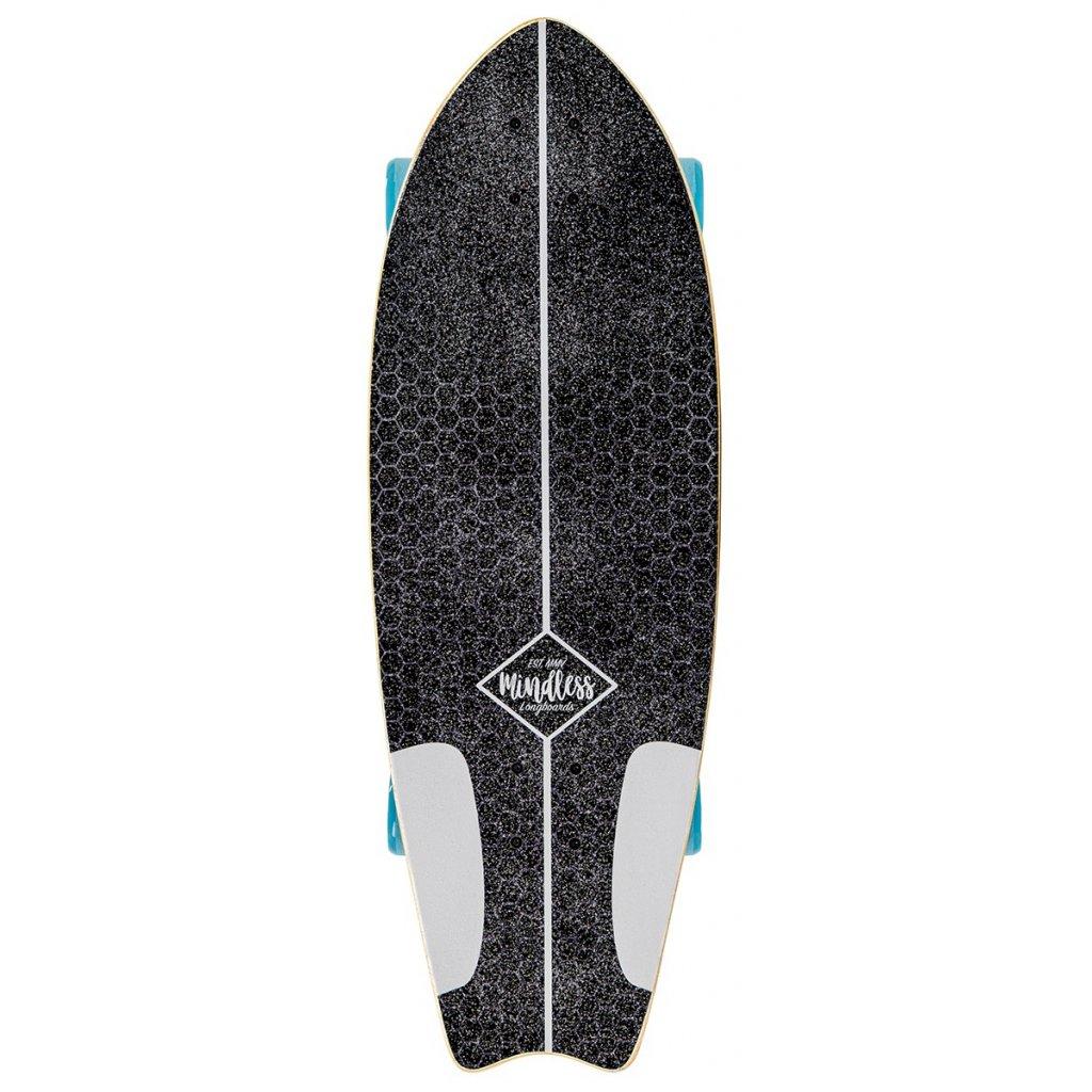 MS1500 Mindless Surf Skate Fish Tail White Main