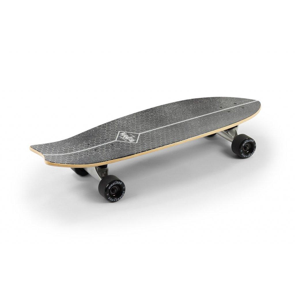 MS1500 Mindless Surf Skate Fish Tail Black Main
