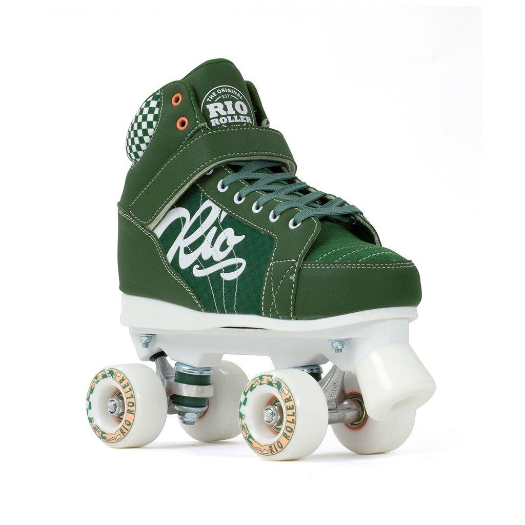 Rio Roller - Mayhem V2 Green - trekové brusle