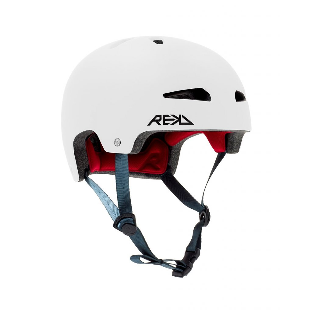 RKD259 REKD Ultralite In Mold Helmet White Main