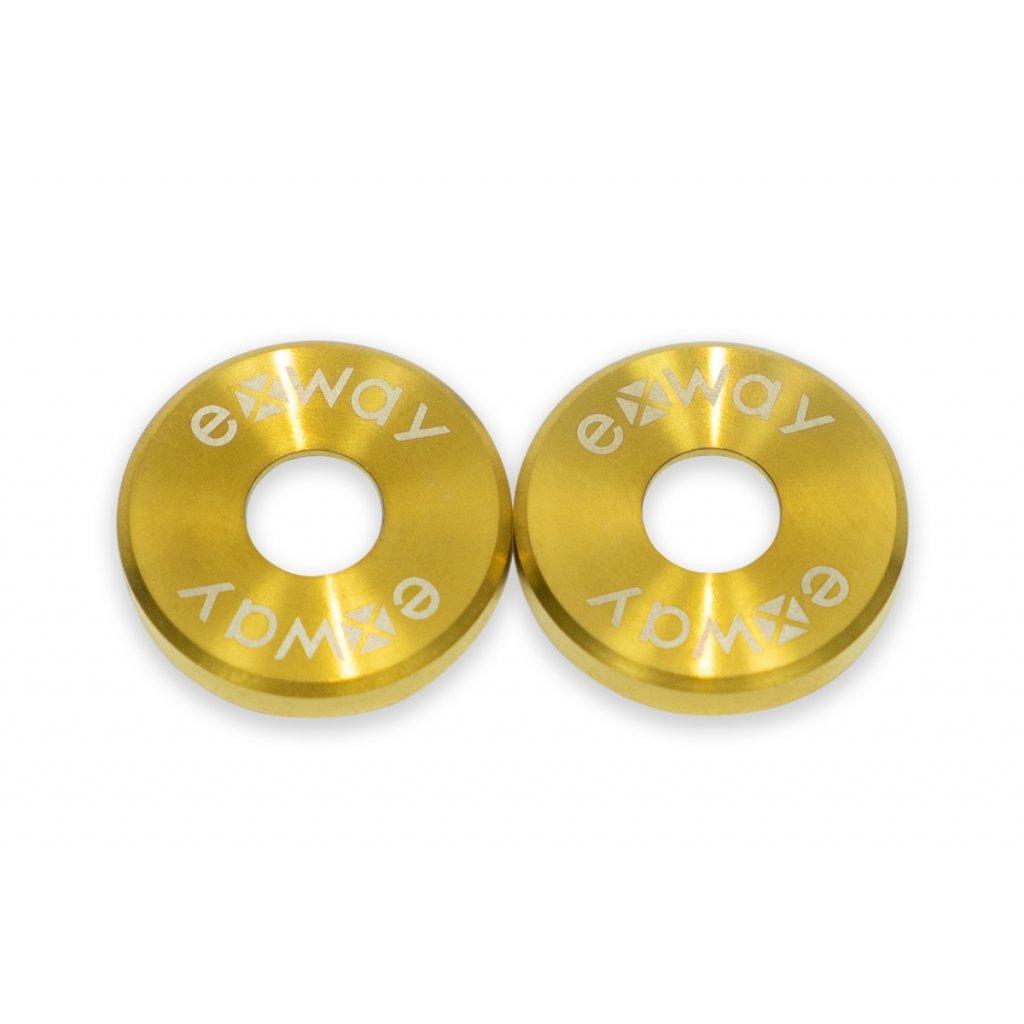 Exway X1 Flex - Podložka k trucku - zlatá (2 ks)