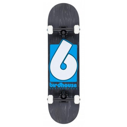 "Birdhouse - Stage 3 B Logo Black/Blue 8"" - skateboard"