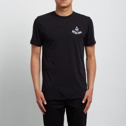 Volcom - Chill Dd Ss Black - Pánské triko