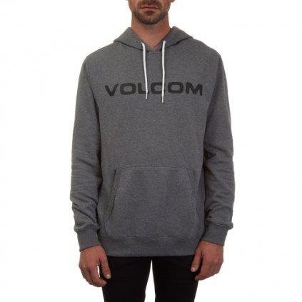 Volcom - Impact P/O Dark Grey - Pánská mikina