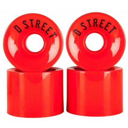 D-Street - 59 Cent 59 x 45 mm 78a Red (sada 4 ks)