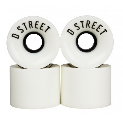 D-Street - 59 Cent 59 x 45 mm 78a White (sada 4 ks)
