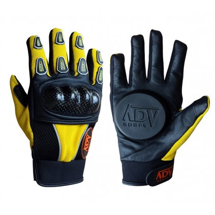ADV sport - Long Yellow - Rukavice