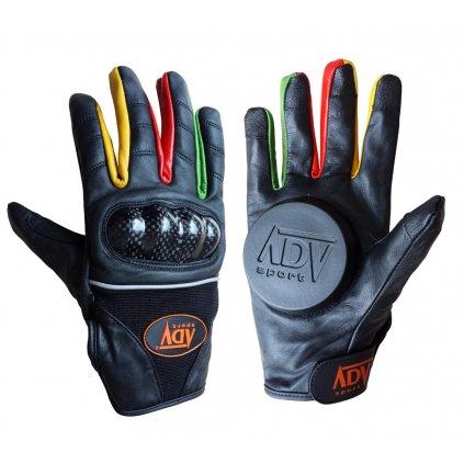 ADV sport - Sped Black - Rukavice