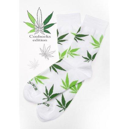 Coolsocks - Ponožky s motivem - Bílé
