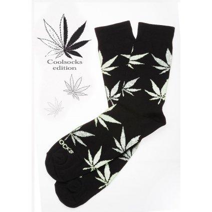 Coolsocks - Ponožky s motivem - Černo-bílé