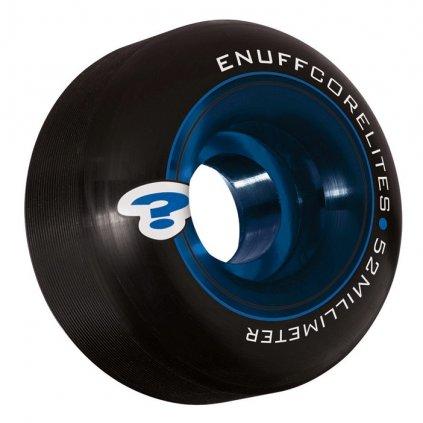 Enuff - Corelites 52 mm - Black/Blue 101a - kolečka (sada 4ks)