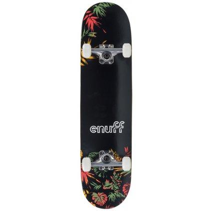 """Enuff - Floral - 7,75"""" Orange - skateboard"""