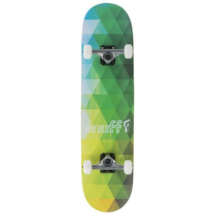 "Enuff - Geometric - 8"" Green - skateboard"